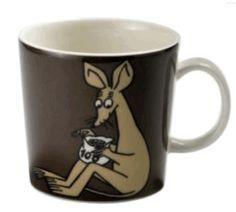 Sniff Moomin Mug Brown