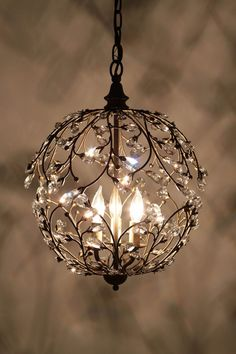 Lambent Sphere Chandelier... absolutely magical!