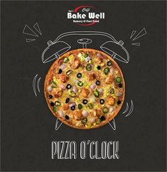 Either you love pizza or you love pizza Cafe Bake Well – Bakery & Fast Food – f… - My Design Ideas 2019 Restaurant Advertising, Restaurant Poster, Food Advertising, Food Graphic Design, Food Menu Design, Food Poster Design, Flyer Design, Creative Pizza, Creative Food