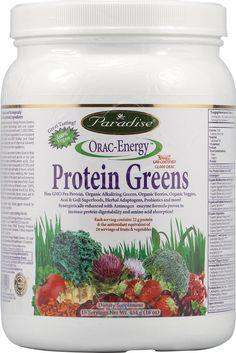 Paradise Herbs Orac Energy Protein Greens -- 16 oz - Vitacost