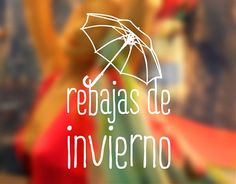 . Vinilos promocionales para tiendas y comercios rebajas de invierno 04072