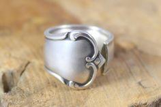 Ringe - Ring aus Silberbesteck / Fingerring - ein Designerstück von ETAGERE2000…
