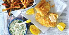 Cool Mom Eats weekly meal plan: Baked Fish and Chips at Peapod