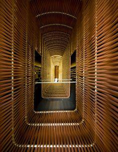 "#Cineteca de #Matadero. #Design by #Churtichaga + #QuadraSalcedo #Architects. #Winner ""Serve & Facilitate"" category at #TheGreatIndoors #Award 2013"