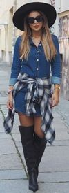 25 Simple Ways To Wear A Shirt Dress – Outfits & Ideas