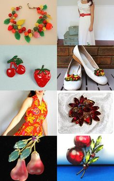 Fruitti-licious Summer Fashions by TeamLove--Pinned with TreasuryPin.com