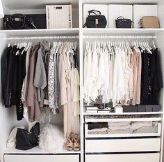 Wish my wardrobe was this organised!