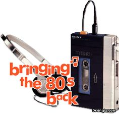 Walkman - trying to run with one of these... ha ha ha