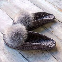 Crochet Stitches Patterns, Baby Knitting Patterns, Crochet Boots, Knitted Slippers, Slipper Boots, Hot Shoes, Double Crochet, Winter Hats, Couture