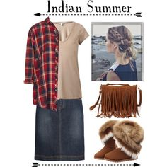 Indian Summer by modestlyme97 on Polyvore featuring polyvore, fashion, style, Topshop, James Perse, Seasalt, Forever 21 and Polaroid