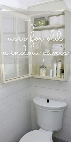5 Awesome Ways to Use Old Windows | You've found the perfect vintage paned window... now what? These 5 ideas will turn the old window you love into a home decor statement! #spon