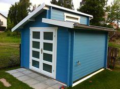 Gartenhaus taubenblau  Gartenhaus bauen | Garten | Pinterest | Garten