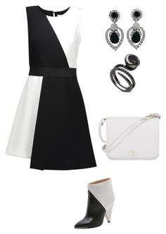 """""""Dress"""" by walwala-z on Polyvore featuring Milly, IRO, Furla and Ciner"""