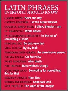 Everyday Latin