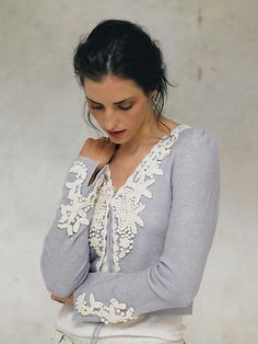 Periwinkle Frost Cardigan - anthropologie.com