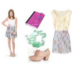 Disney Channel 39 S Violetta Dress Like Vilu By Sweetheartlucy On Polyvore Featuring Polyvore