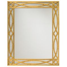 Aged Gold with Eglomise mirrored panels.