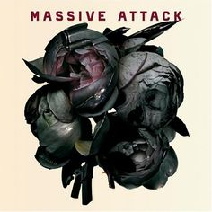 """Poster for Massive Attack live at the Hollywood Bowl in 2006 / """"Ballistic Rose"""" - the name given to a collage of different images, by Robert Del Naja and Tom Hingston, which was used as the front cover of Massive Attack's Collected """"Best Of"""" 2006 album. Cd Cover, Music Covers, Cover Art, Album Covers, Lps, Robert Kiyosaki, Spoken Word, The Dark Side, Massive Attack"""