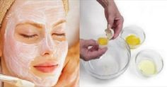 It Tightens the Skin Better Than Botox: This 3 Ingredients Face Mask Will Make You Look 10 Years Younger - Beauty Care Magazine Beauty Care, Diy Beauty, Beauty Hacks, Facial Masks, Facial Hair, Egg Facial, Facial Cream, Natural Face, Natural Skin Care