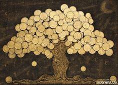 Картина «Денежное дерево Сонце.
