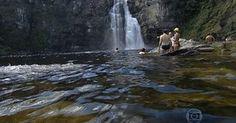 Chapada dos Veadeiros tem aventura por cachoeiras e passeio de balão