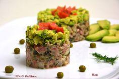 R'n'G Kitchen: Tatar z wędzonego łososia i awokado