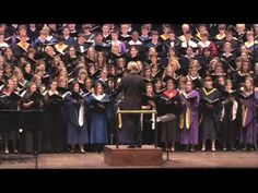 "Eric Whitacre conducts ""Cloudburst"" at Orchestra Hall, Minneapolis"