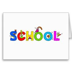 School Greeting Cards