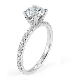 Capri Jewelers Arizona ~ www.caprijewelersaz.com Michael M. Engagement Ring style R371