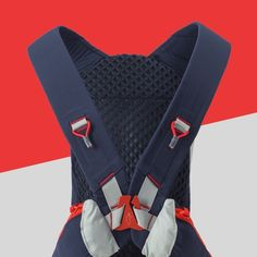The Veloz revolves around an innovative, unisex harness system that's optimized for comfort and movement.