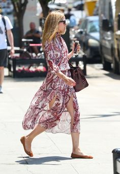 Pin for Later: Olivia Palermo Designed This Dress —Then Shocked Us When She Wore It IRL Olivia Wearing Her Dress on the Street