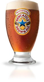 Newcastle Brown Ale Schooner Beer Glass - Set of 6 Newcastle Brown Ale, Beer Glass Set, Personalized Beer Glasses, Different Types Of Beer, Beers Of The World, Ale Beer, Safe Glass, Best Beer, New Set