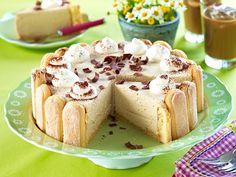 Sweets Cake, Cupcake Cakes, Cupcakes, Cheesecake Recipes, Dessert Recipes, Dessert Ideas, Charlotte Cake, German Cake, Recipe For 4