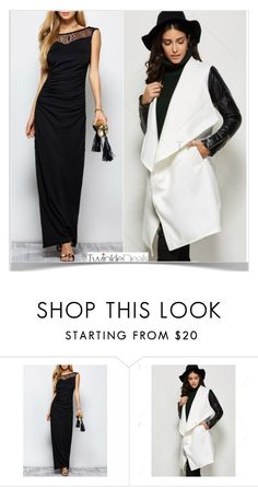 """Amazing look"" by kiveric-damira ❤ liked on Polyvore featuring nice, cozy, stylish, Glamour and twinkledeals"