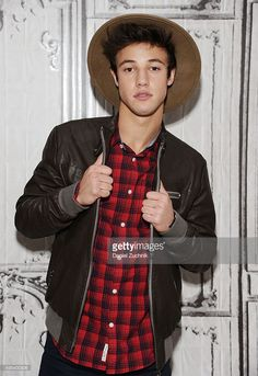 Cameron Dallas attends AOL Build to discuss his film 'The Outfield' at AOL Studios on November 2, 2015 in New York City.