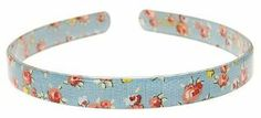 """France Luxe 1/2"""" Ultracomfort Headband - Windham Floral Blue by France Luxe. $20.00. Teeth grips on either side for a secure hold. Dimensions: 1/2"""" wide. Polished to perfection, it will hold its shine for years. Lively, pretty pattern. Made in France. The France Luxe 1/2"""" Ultracomfort Headband  Windham Floral features a lovely pattern of dainty flowers in sunny bright colors. The perfect luxury solution to pull your hair back with style and ease. Extremely com..."""