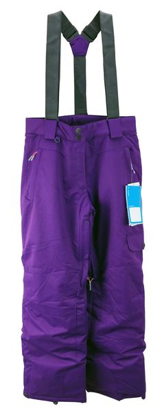Pulse Girls Youth Rider Insulated Snow Pant Deep Purple