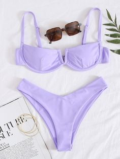Bathing Suits For Teens, Summer Bathing Suits, Cute Bathing Suits, Trendy Bikinis, Cute Bikinis, White Bikini Bottoms, Summer Outfits, Cute Outfits, Bikini Outfits