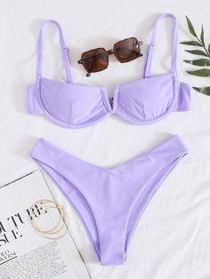Trendy Bikinis, Summer Bikinis, Cute Bikinis, Bathing Suits For Teens, Cute Bathing Suits, Summer Bathing Suits, Summer Outfits, Cute Outfits, Bikini Outfits