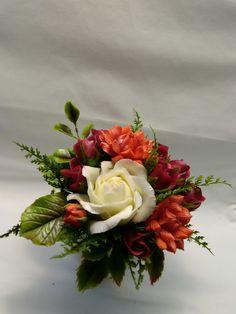 Cold Porcelain, by Natasha Waldron Cold Porcelain, Floral Wreath, Wreaths, Home Decor, Floral Crown, Decoration Home, Door Wreaths, Room Decor, Deco Mesh Wreaths