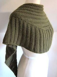 Textured Shawl Knitting Patterns