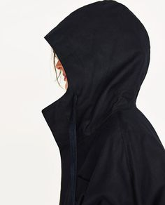 Image 6 of STUDIO PARKA WITH HOOD from Zara