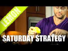 Saturday Strategy - 5 Reasons to Drink Lemon Water Before Breakfast!
