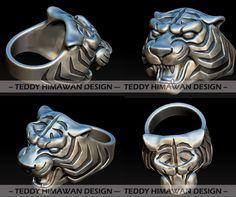 3D jewel CAD sculpting Bali