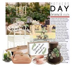 """""""Home Is Where Your Mom Is"""" by joyfulnoise1052 on Polyvore featuring interior, interiors, interior design, home, home decor, interior decorating, Pier 1 Imports, Ruffoni, Threshold and MothersDayBrunch"""