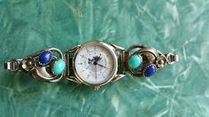 Turquoise-watch-lapis-signed-RB-sterling-silver-vintage-native-american-chief
