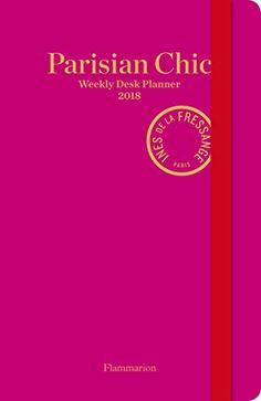 Fresh Parisian Chic Weekly Desk Planner by Ines de la Fres