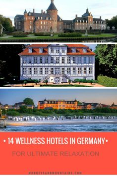 14 of the best wellness hotels in Germany along with practical tips to make the most of your wellness break and suggestions for those on a strict budget.