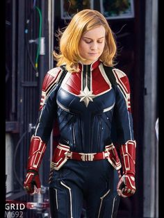 Captain Marvel (photomanip of suit but OMG YES!)