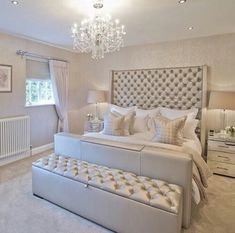 Champagne bedroom ideas